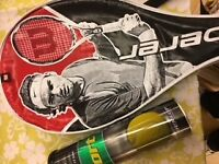 """Wilson """"Federa"""" Tennis Racquet. Used but in good condition."""