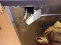 Miele Professional Dryer Input Power cord cut