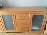 Solid Wood Sideboards, TV Unit and Dining Table