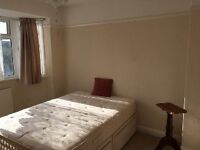 Great bright largeSingle room available in quiet house share .