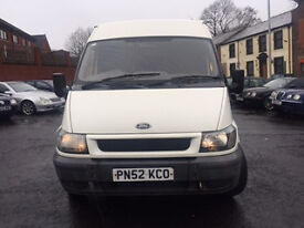 2003 Year.12 Seater Top of a Range 2.4 CC Transit Mini Bus for a Quick Sale.