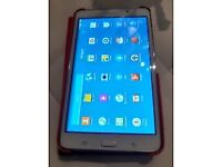 SAMSUNG GALAXY TAB 4, 8 INCH WITH MODEL SM-T230 WHITE COLOUR, IN MINT CONDITION WITH 8GB