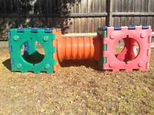 PLAYGROUND EQUIPMENT CLIMBING CUBES AND TUNNEL SET Brighton Bayside Area Preview