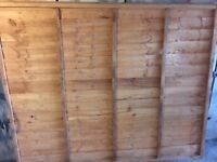 Fence Panel surplus to requirements