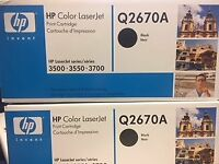 HP LaserJet Printer Cartridge Q2670A Toner (compatible model 3500, 3550 , 3700)