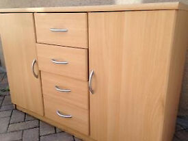 Beech Effect Sideboard