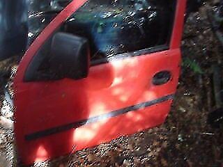 COMBO VAN DOOR IN RED COLOR