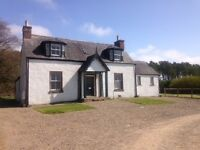 Secluded , spacious country cottage for sale . Offers over £225,000