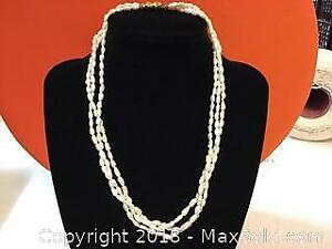 Real Small Pearls Necklace
