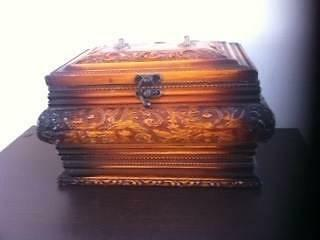 1 Hand Carved Wooden Jewellery Box Matraville Eastern Suburbs Preview