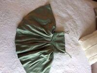 Green BHS Bridesmaid Dress - Age 11