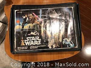 Vintage Stars Wars Figures Case Empty