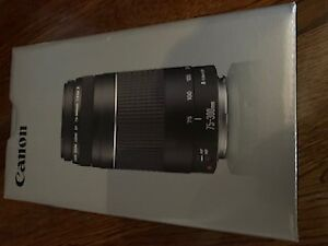 Canon 75-300 mm Zoom Lens - Brand New In Box