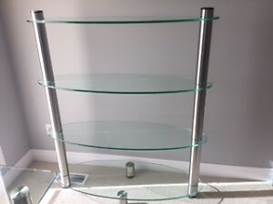 Beautiful Glass Shelving Unit Windsor Region Ontario image 1