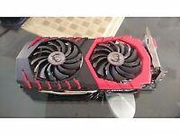 25-26 MH/s MSI RX 570 4GB GAMING MODIFIED MINING GPU + RISER
