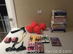 Exercise, Health & Fitness Lot