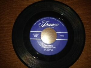 "Vinyl 45 rpm record by Rene Angelil ""Les Baronets"""