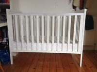 Mamas and Papas cot and mattress in excellent condition.