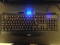 Zacro Backlit Wired Gaming Keyboard