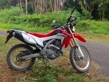 2013 HONDA CRF250L LONG REG Excellent Condition Byron Bay Byron Area Preview