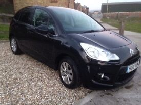 Black Citroen C3 5 Door 1.4 Diesel