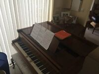 Bluthner Grand Piano - Bargain £1500 ono