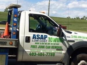 Cheap Towing Service Calgary Junk Car Removal 403 464 7789