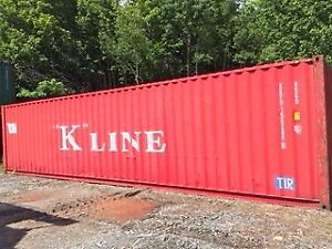 40'HC Shipping container for Sale / Seacan / MINT CONDITION