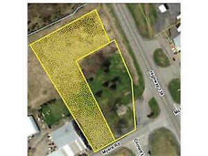 COMMERCIAL VACANT L-SHAPED LOT ON MYERS RD&HWY. 138