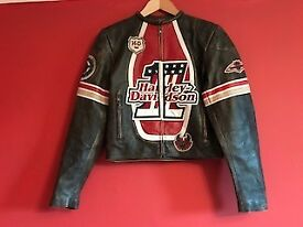 Brand new women's Harley Davidson leather jacket.