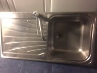 Kitchen Sink in good condition with tab