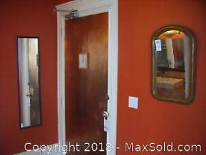 Antique Mirror And Full Length Mirror A