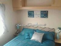 Family caravan hire at Presthaven ( Haven site N Wales)