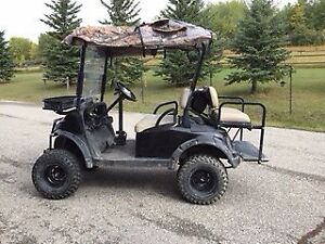 Electric hunting cart