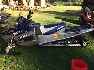 05 polaris rmk 900 with complete parts sled
