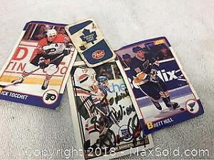Hockey Cards Signed Vanbiesbrouck, Michel Laroque