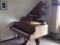 Hagspiel Boudoir Grand Piano with Duet Piano Stool