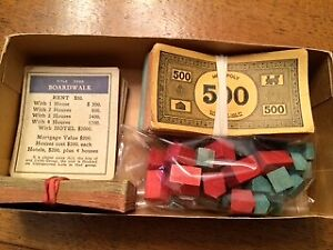 1936 Monopoly Game and more