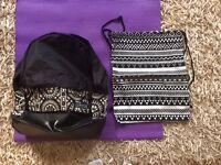Back to school Girls backpack & PE bag