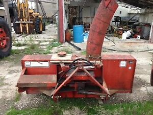 McKee Snowlander 7 ft Double Auger Snow Blower