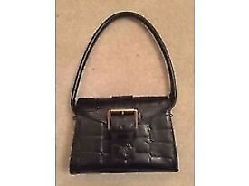Mulberry Black Leather Shoulder Bag