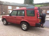 Land Rover Discovery TD5 For repair