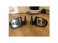 bmw e70 x5 wing mirrors for sale or fitted call parts thanks