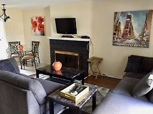 Rent Furnished Sarnia 2/3/4 bedroom Townhouse Short Term Wow!