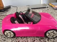 Barbie Car barely used