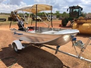 Tinny -Blueline Aluminium Nomad AS NEW with Trailer & 20hp Suzuki Darwin Region Preview