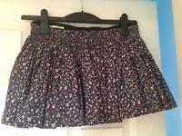 Jack Wills Floral Skirt Size 10