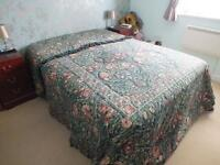 King Size Quilted bedspread