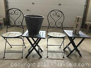 Bistro Chairs And Patio Items