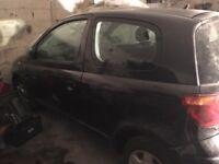 Toyota Yaris 1.0 Parts (Semi-Auto) Black 3 doors